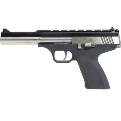 "Excel Arms Accelerator MP-5.7 Semi Auto Handgun 5.7x28mm 8.5"" Stainless Steel Barrel Polymer Composite Pistol Grip Stock Black EA57301"