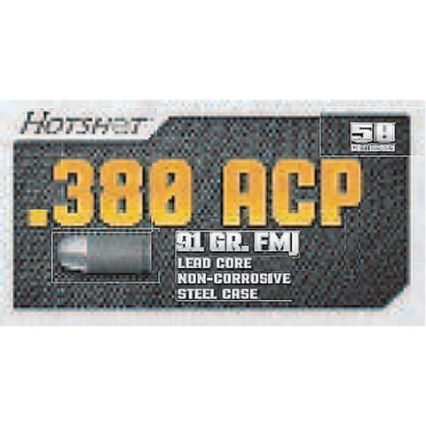 Century Arms Hotshot 380 ACP 91gr FMJ 50 Rounds