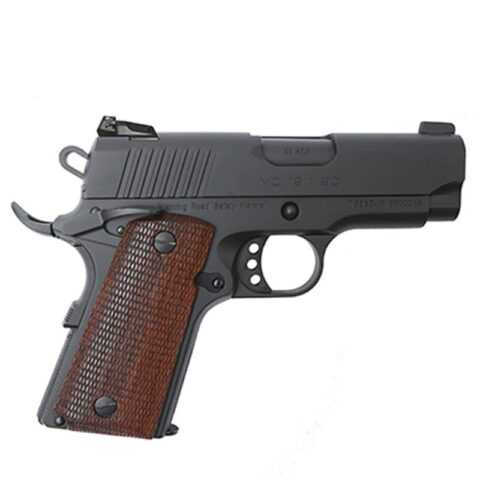 "EAA GiRSAN MC1911SC Officer Model .45 ACP Semi Auto Pistol 3.4"" Barrel 6 Rounds Adjustable Rear Sight Ambidextrous Safety Black Finish"