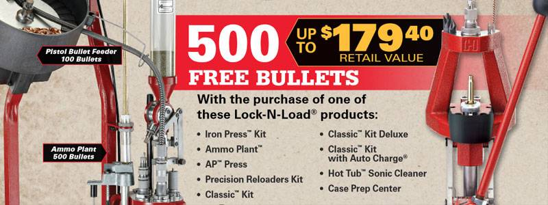 Hornady Free Bullets