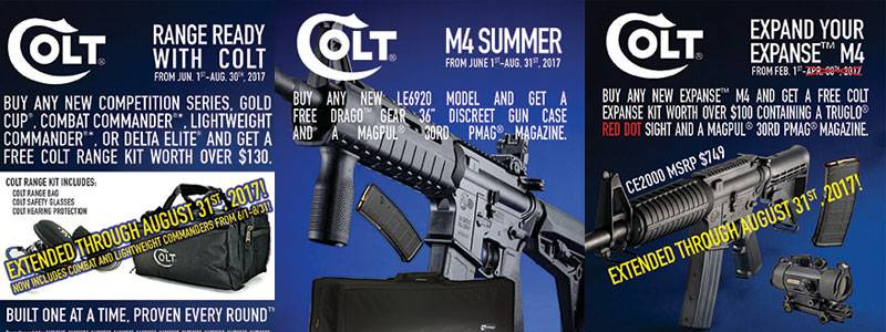 colt gun sale, colt gun rebate, colt rebate, colt coupon, colt gun coupon